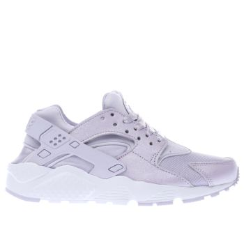 NIKE LILAC HUARACHE RUN GIRLS YOUTH TRAINERS