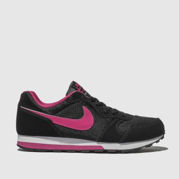 Nike Pink & Black MD RUNNER 2 Girls Youth