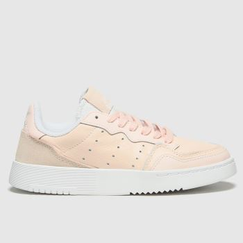 adidas Pale Pink Supercourt Girls Youth