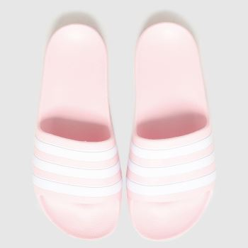 adidas Pale Pink Adilette Aqua Girls Youth