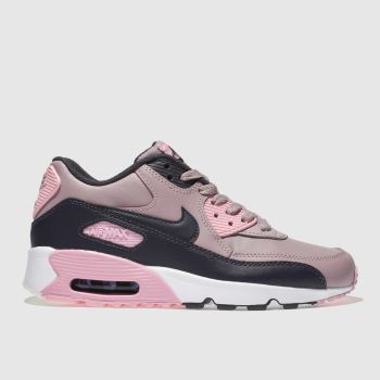 Nike Pink AIR MAX 90 Girls Youth