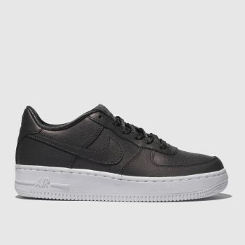 Nike Purple Air Force 1 Ss Girls Youth