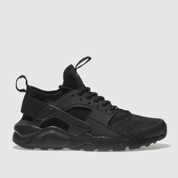 Nike Black Huarache Run Ultra Se Girls Youth