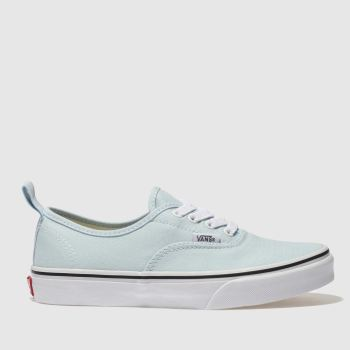 Vans Pale Blue AUTHENTIC Girls Youth