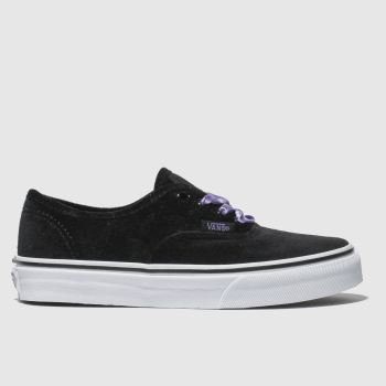 Vans Black Authentic Girls Youth