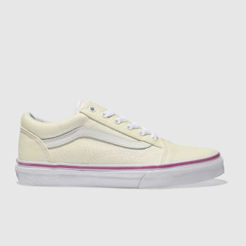 Vans White OLD SKOOL Girls Youth