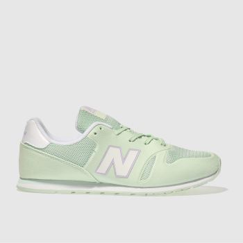 New Balance Light Green 373 Girls Youth