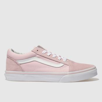 fca31c64e9 Vans Pale Pink Old Skool Girls Youth