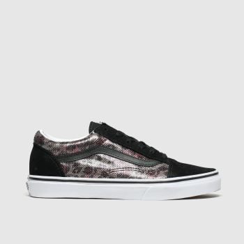 Vans Black & Brown Old Skool Girls Youth