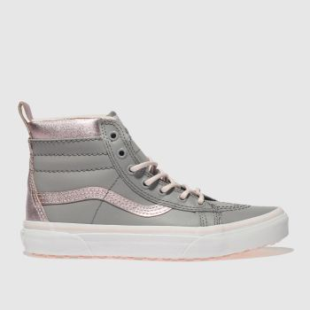 Vans Grey Sk8-Hi Mte Girls Youth