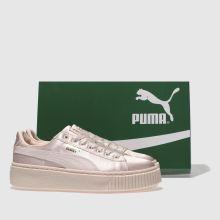 puma basket platform tween
