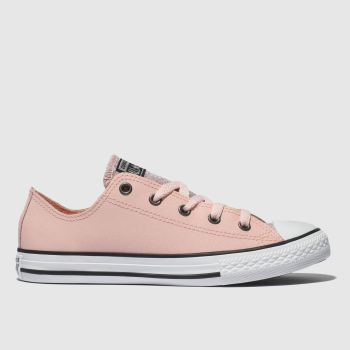 Converse Pale Pink ALL STAR OX GLITTER Girls Youth