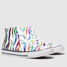 Converse All Star Zebra Hi 1