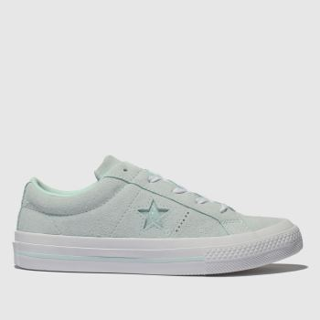 Converse Pale Blue One Star Lo Girls Youth