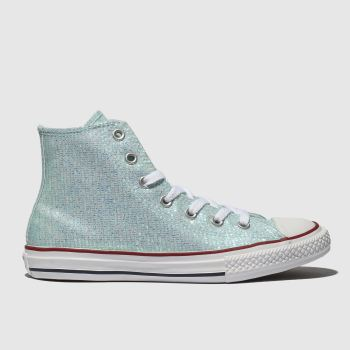 Converse Pale Blue All Star Hi Girls Youth