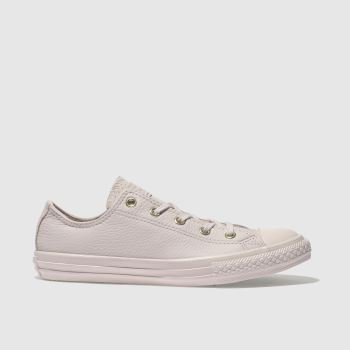 CONVERSE PALE PINK CHUCK TAYLOR ALL STAR LO GIRLS YOUTH TRAINERS