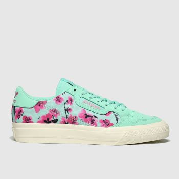 Adidas Turquoise Continental Vulc X Arizona Girls Youth