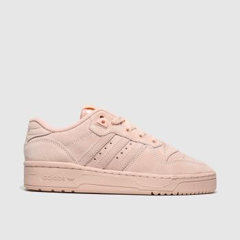 Adidas Pale Pink Rivalry Low Girls Youth