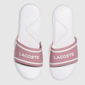 Lacoste Pink L.30 Girls Youth