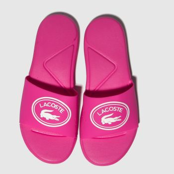 Lacoste Pink L.30 Slide Girls Youth