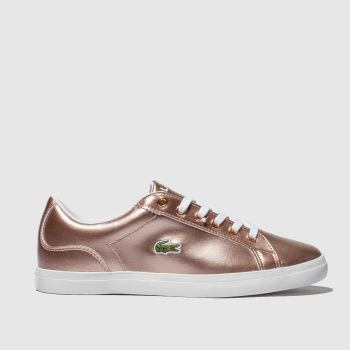 LACOSTE PINK LEROND TRAINERS YOUTH
