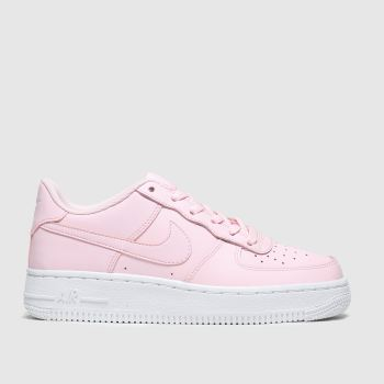 Nike Pale Pink Air Force 1 Girls Youth