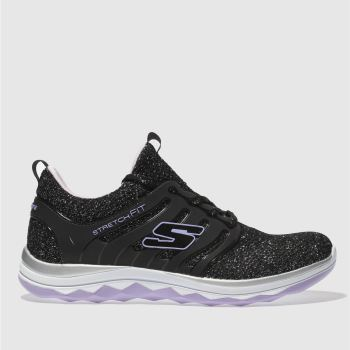 Skechers Black Diamond Runner Girls Youth
