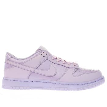 NIKE LILAC DUNK LOW GIRLS YOUTH TRAINERS