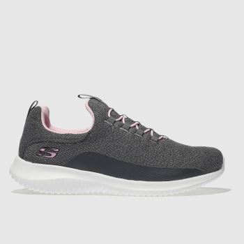 Skechers Grey Ultra Flex Girls Youth
