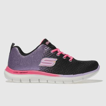Skechers Black & Purple Skech Appeal 2.0 Girls Youth