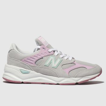 New Balance Light Grey X90 Girls Youth