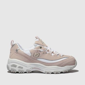 Skechers Pale Pink Dlites Biggest Fan Girls Youth