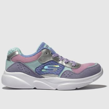 Skechers Lilac Meridian Charted Girls Youth