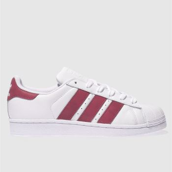 Adidas White Superstar Girls Youth