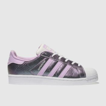 Adidas Lilac Superstar Girls Youth