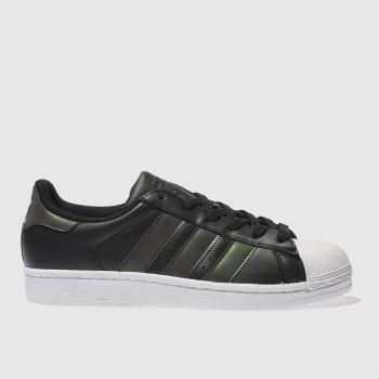 Adidas Black Superstar Girls Youth