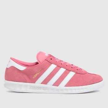 adidas Pink Hamburg Girls Youth