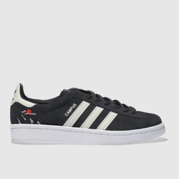 Adidas Grey Campus Girls Youth