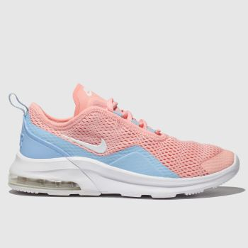 nike peach air max motion 2 trainers youth