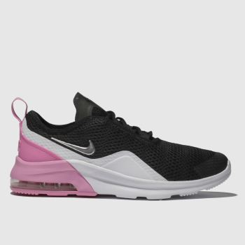 new product f9975 f689f NIKE BLACK   PINK AIR MAX MOTION 2 TRAINERS YOUTH