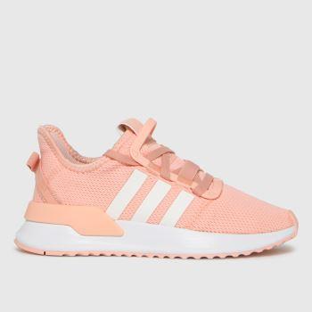adidas Pale Pink U_path Run Girls Youth