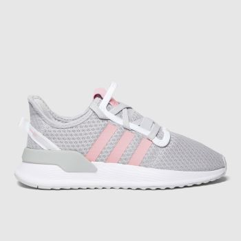 adidas Light Grey U_path Run Girls Youth
