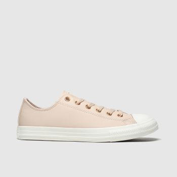Converse Pale Pink Chuck Taylor All Star Lo c2namevalue::Girls Youth