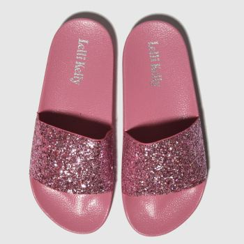 LELLI KELLY PINK MARINA SANDALS YOUTH