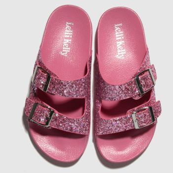 LELLI KELLY PINK ELGA SANDALS YOUTH