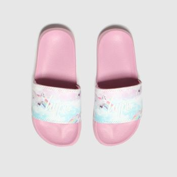 Hype Pink Pink Unicorn Slider c2namevalue::Girls Youth