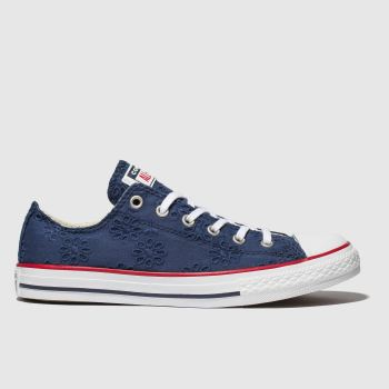 2f38700405c3 Converse Navy Chuck Taylor All Star Lo Girls Youth