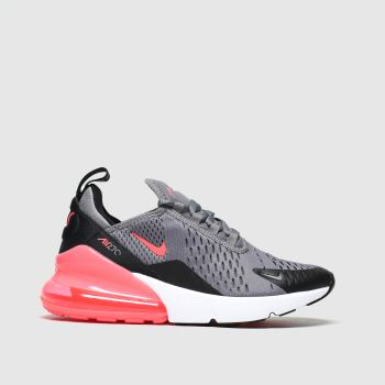 sneakers running shoes great deals Girls grey nike air max 270 trainers | schuh