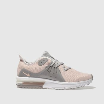 NIKE PEACH AIR MAX SEQUENT 3 TRAINERS YOUTH
