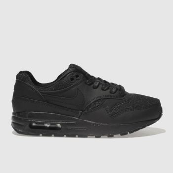 Nike Black Air Max 1 Se Girls Youth